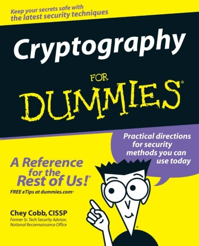 Cryptography For Dummies front-1072454