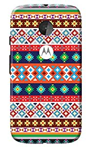 Moto E2 Back Cover + Free Mobile Viewing Stand