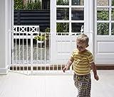 Baby Dan Flex Safety Gates, White, Medium