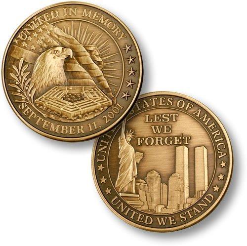 United in Memory - Bronze Antique
