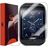 Skinomi® TechSkin - Samsung Gear S Screen Protector + Full Body Skin Protector with Free Lifetime Replacement / Front & Back Premium HD Clear Film / Ultra Invisible and Anti-Bubble Crystal Shield