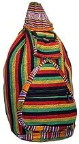 Single Shoulder Rasta Sling Backpack