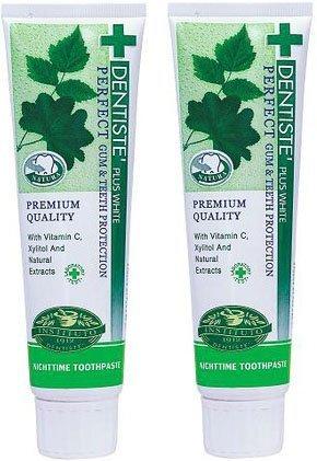 2X100G Dentiste Plus White Whitening, Vitamin C & Xylitol Toothpaste