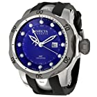 Invicta Men's 6587 Reserve Collection GMT Black Rubber Watch
