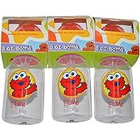 Sesame Beginnings 5 Oz Bottle Pack Elmo BPA Free (Pack Of 3)