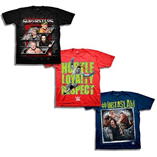 wwe-boys-big-boys-3-pack-t-shirt-bundle-black-red-navy-xl-18-20
