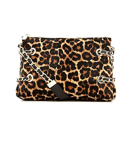 MICHAEL Michael KorsMichael Kors Susannah Small Messenger Handbag, Cheetah