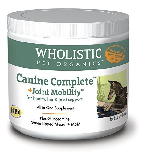 Wholistic Pet Organics Canine Complete Plus Joint Mobility Supplement, 2 lb