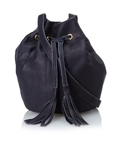 gorjana Women's Cassidy Canyon Bucket Bag, Navy As You See