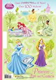 Princess Fun and Games (Disney Princess) (Giant Coloring Book)