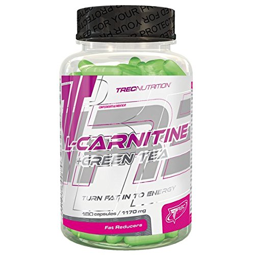 L-CARNITINE + GREEN TEA - 180 CAP / Turn Fat In To Energy
