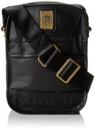 Diesel Men's On The Road Trip New Fellow Bag, Black, One Size