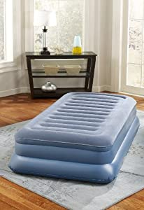 Simmons Beautyrest Skyrise 17-Inch Twin Pillow Top Express Air Bed with Pump