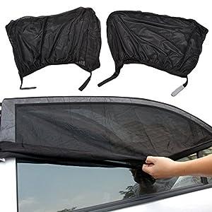 2pcs Car Window Shade Sun Cover Van Camper Sun Protecter For Baby Kids Pets