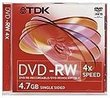TDK DVD-RW 4.7GB 4x - 1 Pack