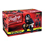 AGES 5-7 Youth Catcher's Equipment Full Starter Set (Mask, Chest Protector, Shin Guards,... by Rawlings Authentic Sports Shop