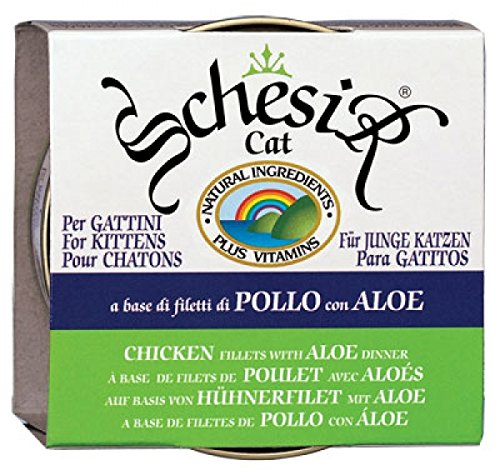 SCHESIR - SCHESIR KITTEN FILETTI DI POLLO CON ALOE 85G - 0611