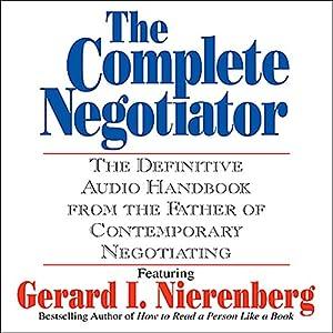 The Complete Negotiator Audiobook