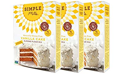Simple Mills Vanilla Cake Mix, 11.5 Ounce from Simple Mills