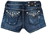 51KvrhO WiL. SL160  Miss Me Girls Crystal Pocket Shorts