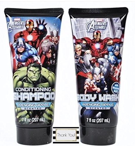 Avengers Conditioning Shampoo And Body Wash - Avenging Apple (Great Clips Tea Tree Shampoo compare prices)