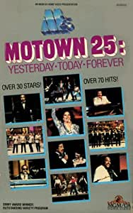 Motown 25: Yesterday, Today, Forever [VHS]