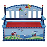Levels Of Discovery Gettin' Around Bench Seat with Storage Blue/Multi
