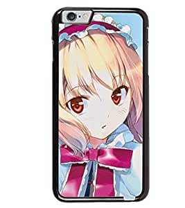 Printvisa Little Girl In Pink And Blue Back Case Cover for Apple iPhone 6
