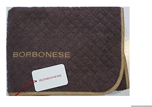 BORBONESE TAPPETO BAGNO OP COLOUR MISURA cm. 60x110 WENGE'