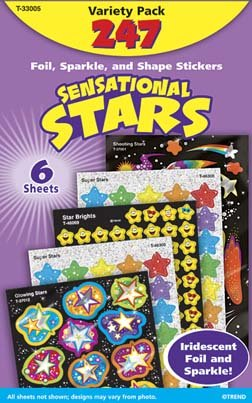 Sensational Stars Stickers by Trend