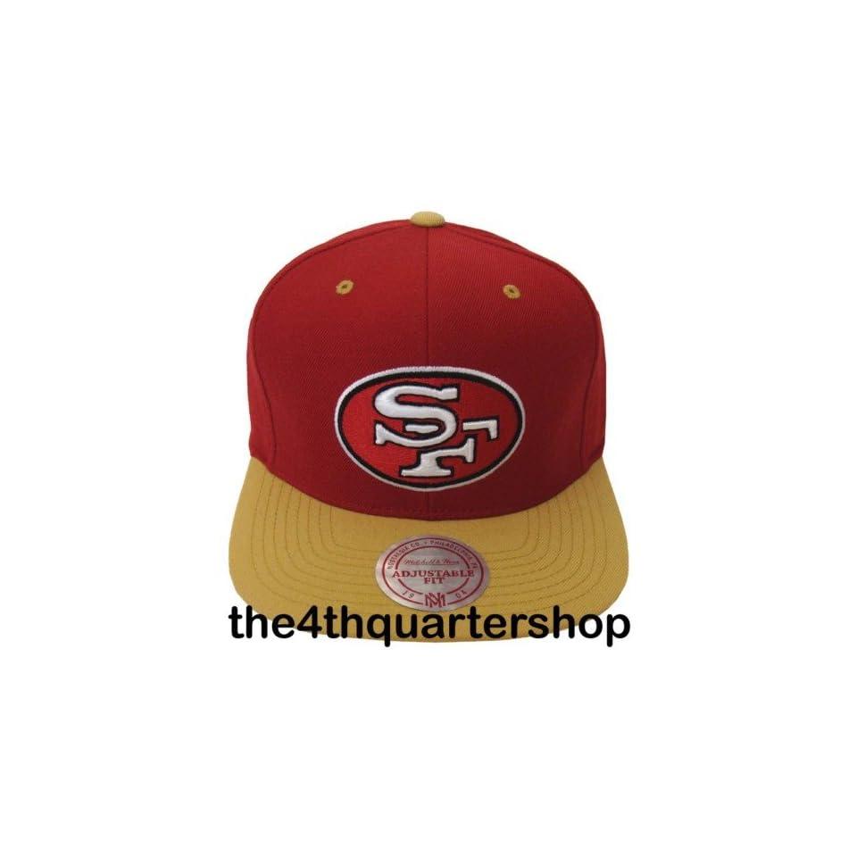 San Francisco 49ers Logo Mitchell & Ness Snapback Cap