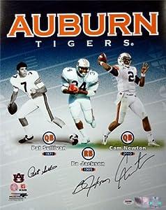 Bo Jackson, Cam Newton & Pat Sullivan Autographed Hand Signed 16x20 Photo Auburn... by Hall+of+Fame+Memorabilia
