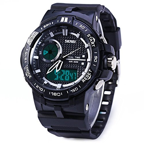 hukoer-mens-sport-analog-and-digital-dual-time-zones-rubber-band-sports-wrist-watch-sliver-blue-oran