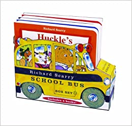 Richard Scarry's School Bus Box Set