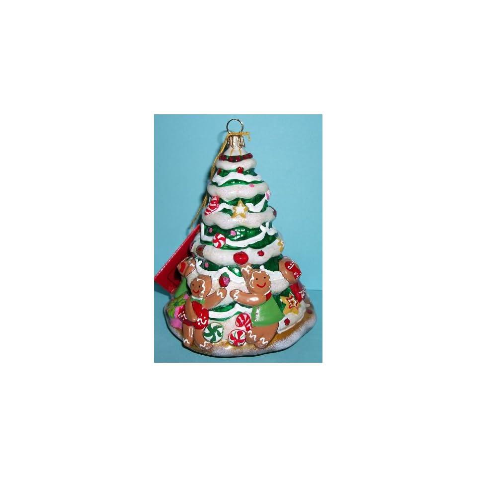 Kurt Adler Polonaise Ornament Gingerbread Cookie Tree