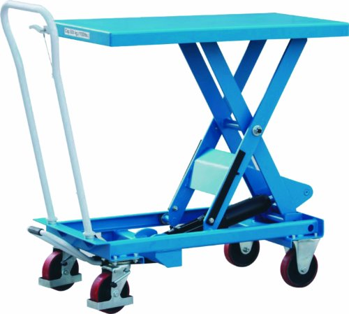 Industrial Hydraulic Scissor Lift Table Truck-capacity 660lbs