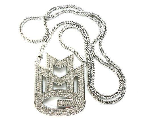 superbe-collier-argent-a-pendentif-mmg-maybach-music-group-couvert-de-pierres-de-strass-chaine-franc