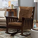 Belham Living Remington Mission Rocker - Walnut