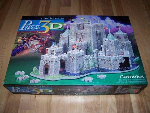 Cheap Milton Bradley / Wrebbit Puzz 3D Puzzle CAMELOT 620 pieces (B000W6QY48)
