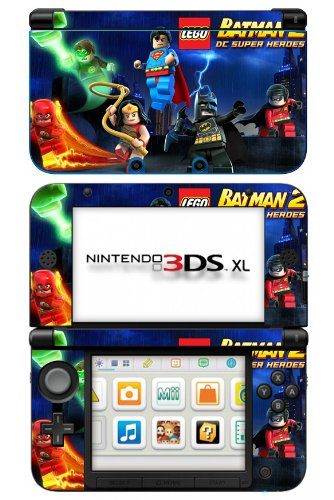 LEGO Batman 2: DC Super Heroes Game Skin for Nintendo 3DS XL Console (Lego Batman Decals compare prices)