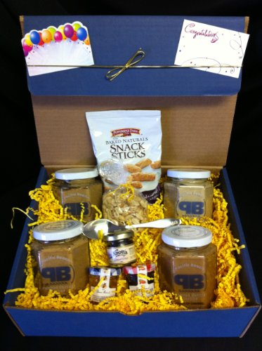 Peanut Butter Lovers 4 Jar Gift Set