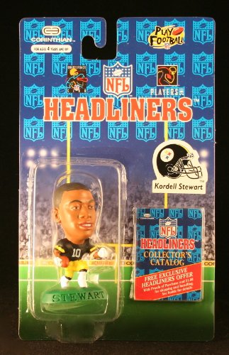 KORDELL STEWART / PITTSBURGH STEELERS * 3 INCH * 1996 NFL Headliners Football Collector Figure