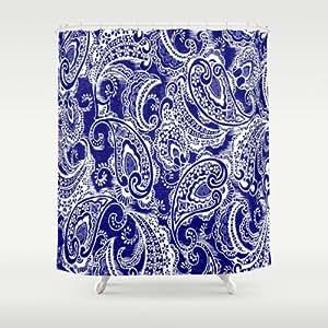 Amazon.com: Society6 - Paisley Batik Shower Curtain by Ariadne: Home