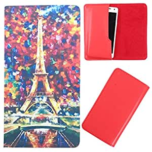 DooDa - For Spice Stellar 508 PU Leather Designer Fashionable Fancy Case Cover Pouch With Smooth Inner Velvet