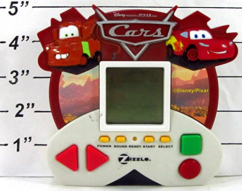 2006 Zizzle Disney/Pixar Cars Electronic Handheld Travel Game