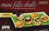 Athens Foods Mini Fillo Dough Shells 15 Per Box (3 Boxes)