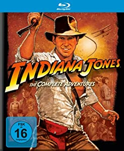 Indiana Jones The Complete Adventures [Blu-ray]