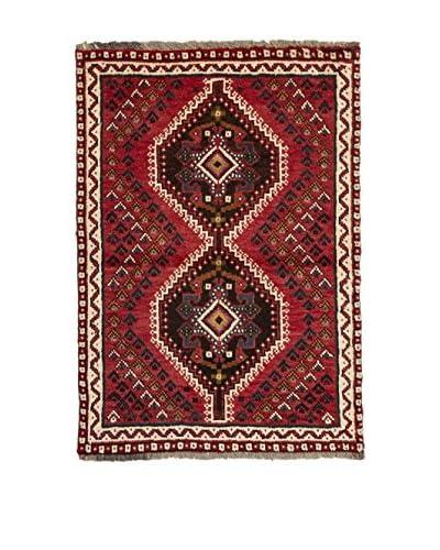 CarpeTrade Teppich Persian Shiraz rot/mehrfarbig