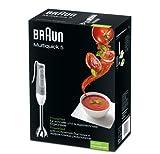 Braun MQ 500 Soup Multiquick 5 Stabmixer (600 Watt) grau -