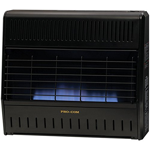 ProCom Dual Fuel Vent-Free Blue Flame Garage Heater - 30,000 BTU (Procom Blue Flame Heater Blowers compare prices)